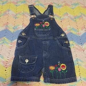 💎2for12 baby girl overalls